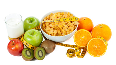 381484 cereal and fruits